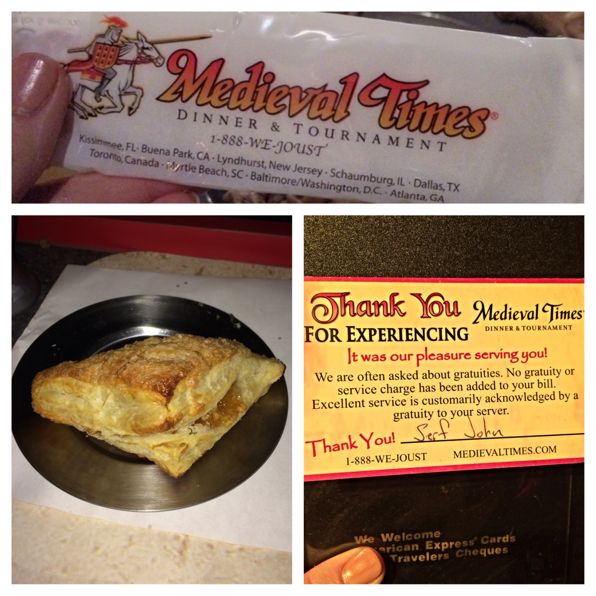 Medieval Times Officially Outnumbered